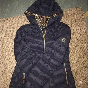 Michael kors navy jacket